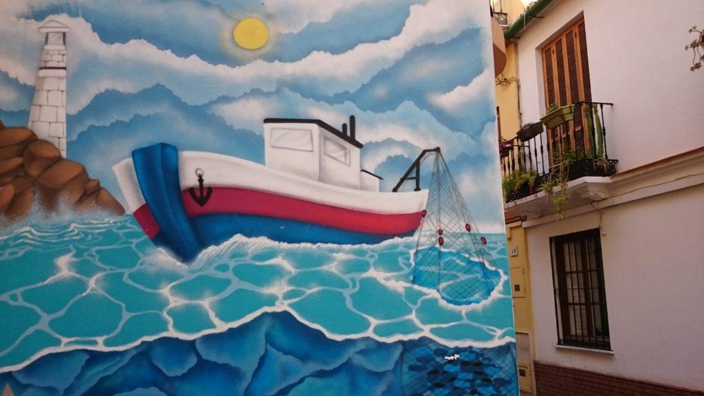 Street art, Malaga, Spain