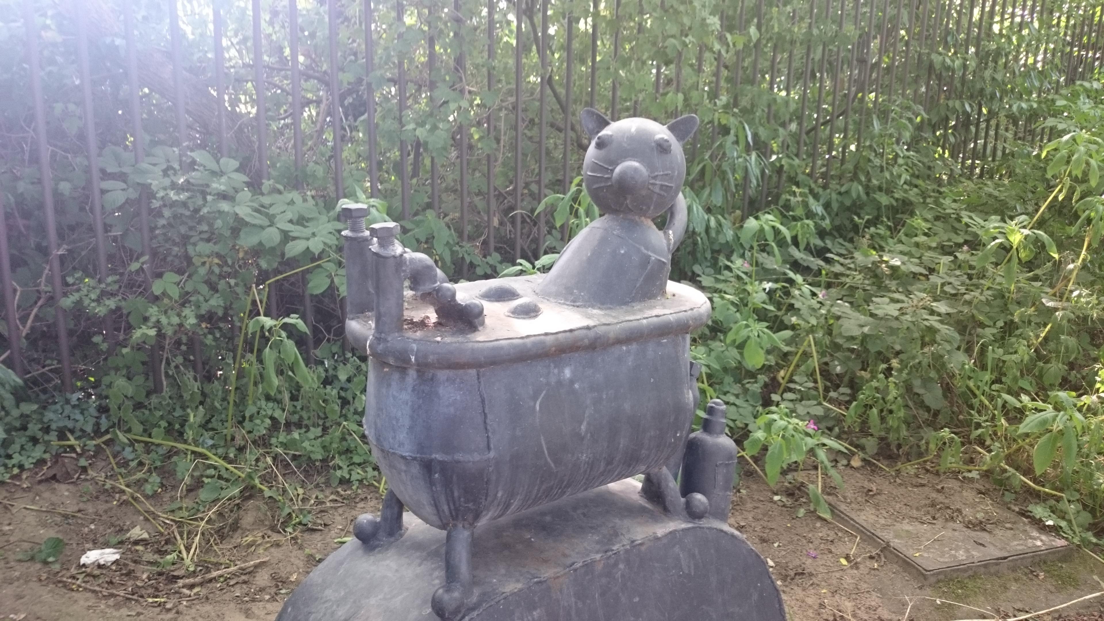 yorkshire sculpture trail, saltaire