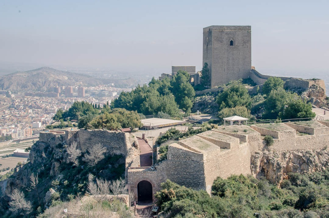 Lorca Castle (Fortaleza Del Sol)
