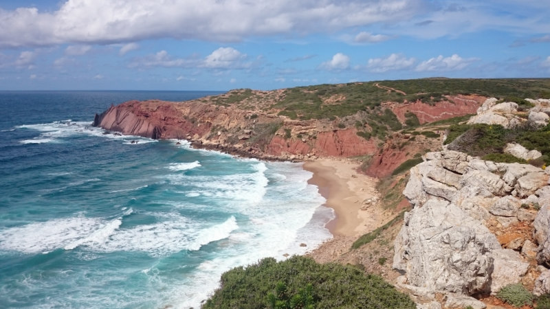 travel planning for hiking (Rota Vicentina)