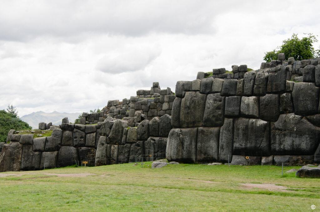 Inka walls, Peru, January 2020