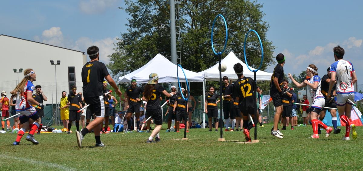 Quidditch hoops