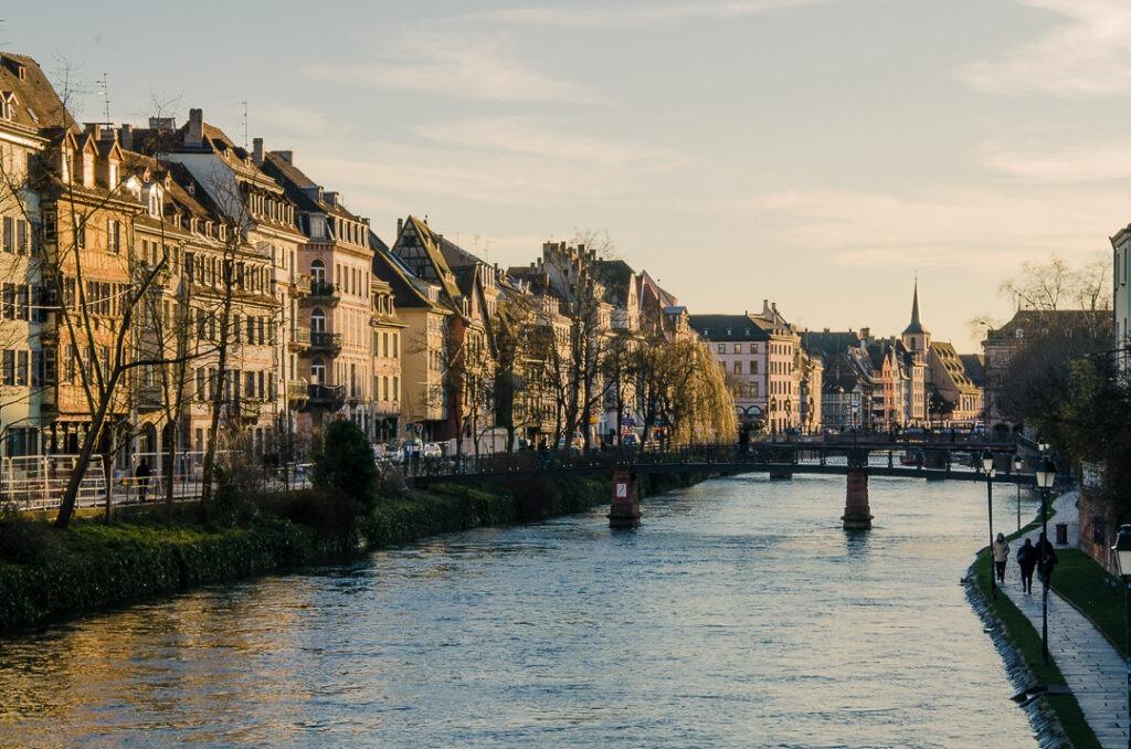 The river in Strasbourg