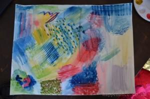 a watercolour mess